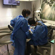 hard at work at Advanced Smiles Dentistry